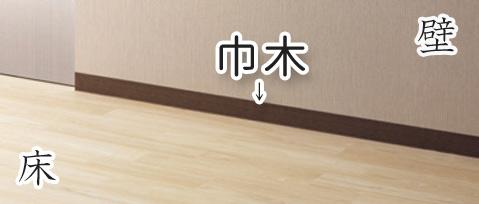 ソフト巾木の説明画像